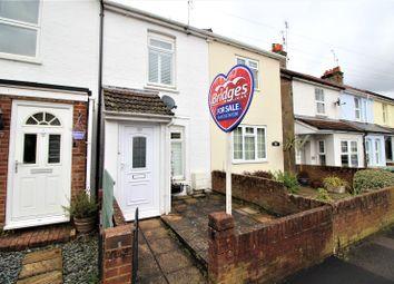 2 bed terraced house for sale in Belle Vue Road, Aldershot, Hampshire GU12