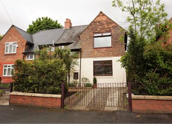 Thumbnail 3 bed semi-detached house for sale in Walker Road, Manchester