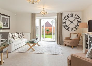 "Thumbnail 3 bedroom end terrace house for sale in ""Belvoir"" at Louisburg Avenue, Bordon"