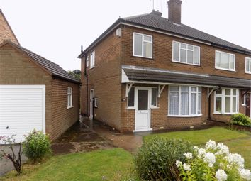 Thumbnail 3 bed semi-detached house to rent in Ashley Road, Worksop, Nottinghamshire