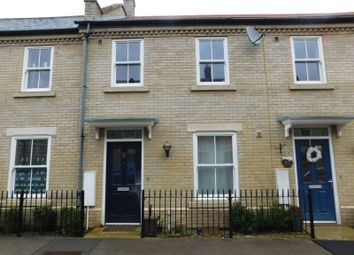 Thumbnail 2 bed terraced house to rent in Kipling Crescent, Fairfield, Hitchin