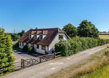 Thumbnail 4 bed detached house for sale in Linton Road, Hildersham, Cambridgeshire