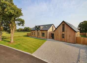 Thumbnail 4 bed detached house for sale in Maplewood Drive, Hare Lane, Blindley Heath, Lingfield