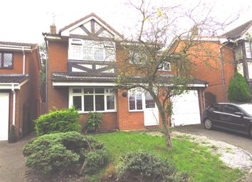 Thumbnail 4 bed detached house for sale in Yarrow Close, Rugby