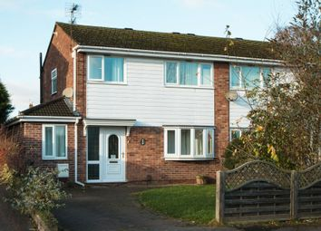 Thumbnail 4 bedroom semi-detached house to rent in Burley Rise, Kegworth, Derby
