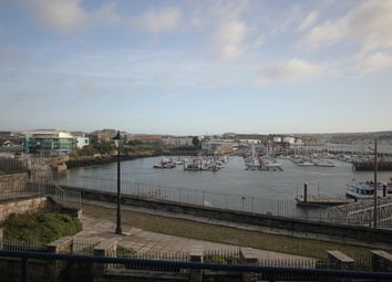 Thumbnail 2 bed flat to rent in Lambhay Street, Plymouth
