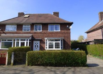 Thumbnail 3 bed semi-detached house for sale in Carloon Road, Northern Moor, Manchester, Greater Manchester