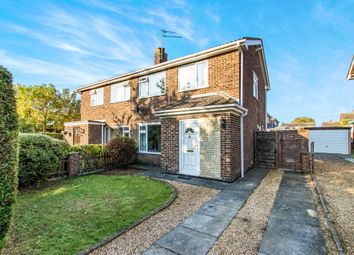 Thumbnail 3 bed semi-detached house for sale in Exton Close, Stamford