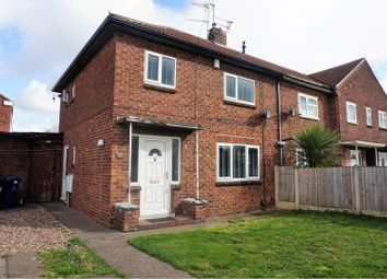 Thumbnail 3 bed end terrace house for sale in Pipering Lane, Doncaster