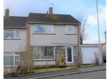 Thumbnail 3 bed semi-detached house for sale in Whitestiles, Workington