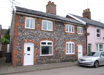 Thumbnail 2 bed end terrace house for sale in College Road, Framlingham, Woodbridge
