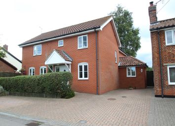 Thumbnail 4 bed detached house for sale in Alley Road, Kirton, Ipswich