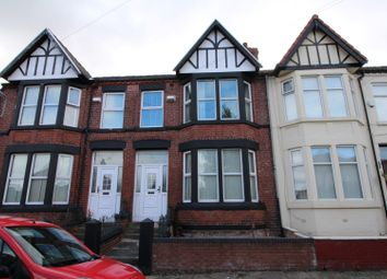 Thumbnail 3 bed terraced house to rent in Fernwood Road, Aigburth