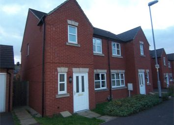 Thumbnail 3 bedroom semi-detached house to rent in Lawrence Avenue, Mansfield Woodhouse, Mansfield