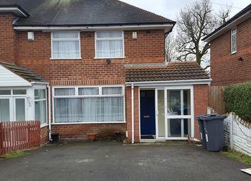 Thumbnail 4 bedroom end terrace house to rent in Effingham Road, Moseley, Birmingham