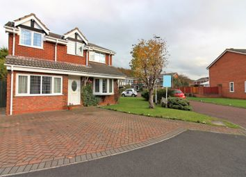 Thumbnail 4 bed detached house for sale in Norman Close, Cleveleys