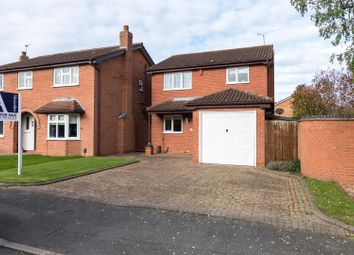 Thumbnail 3 bed detached house for sale in Pepper Drive, Quorn, Loughborough