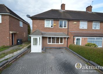 Thumbnail 3 bed end terrace house to rent in Swinford Road, Birmingham, West Midlands.
