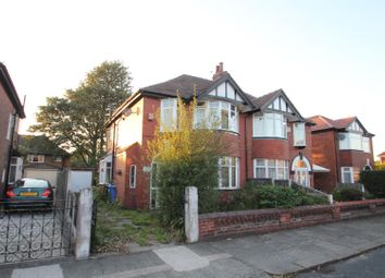 Thumbnail 3 bed semi-detached house for sale in Arlington Road, Stretford, Manchester