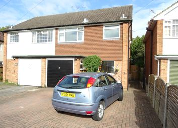 Thumbnail 4 bed semi-detached house for sale in Kings Road, New Haw