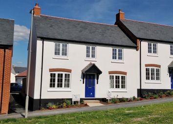 Thumbnail 3 bed terraced house for sale in Willow Walk, Chickerell, Weymouth