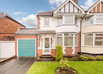Thumbnail 3 bed semi-detached house for sale in Graham Crescent, Rubery, Birmingham
