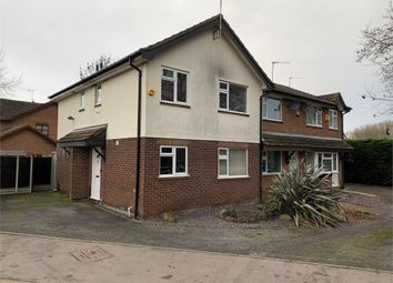 Thumbnail 2 bed town house for sale in Warwick Road, Littlethorpe, Leicester