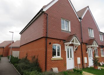 Thumbnail 2 bed end terrace house for sale in Dowse Close, Tidworth