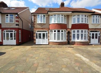 Thumbnail 5 bed semi-detached house for sale in Herent Drive, Clayhall, Essex