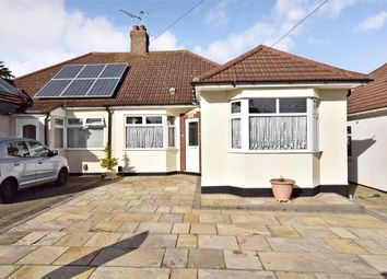 Thumbnail 2 bedroom semi-detached bungalow for sale in Somerset Gardens, Hornchurch, Essex