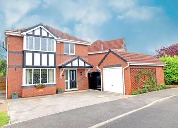 Thumbnail 4 bed detached house for sale in Woodlands View, Barlby, Selby