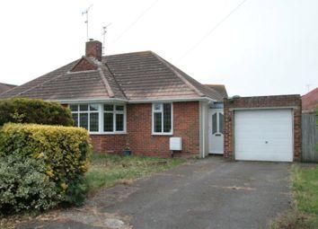 Thumbnail 2 bed bungalow to rent in Chaucer Avenue, Rustington, Littlehampton
