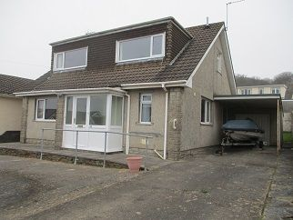 Thumbnail 4 bed detached bungalow for sale in Dan Y Graig Avenue, Porthcawl