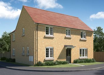 "Thumbnail 4 bedroom detached house for sale in ""The Kempthorne"" at Mepal Road, Sutton, Ely"