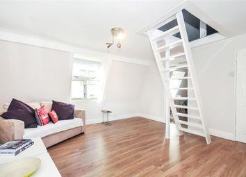 Thumbnail Studio to rent in Top Floor Flat, Broad Street, Bath