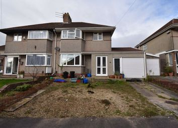 Thumbnail 3 bed semi-detached house for sale in Beckington Road, Lower Knowle, Bristol