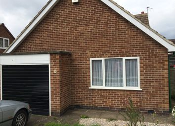 Thumbnail 2 bed detached bungalow to rent in Oakside Close, Leicester