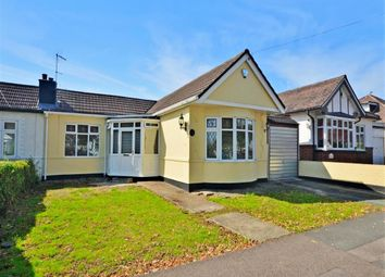 Thumbnail 3 bed semi-detached bungalow for sale in Woodhall Crescent, Hornchurch