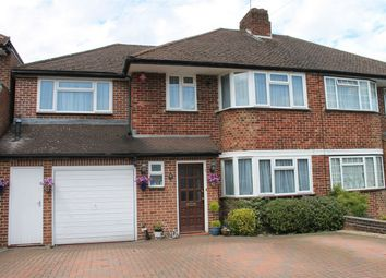 Thumbnail 4 bed semi-detached house for sale in Silverston Way, Stanmore, Middlesex