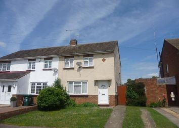 Thumbnail 2 bed semi-detached house to rent in St Catherines Avenue, Bletchley, Milton Keynes, Bucks