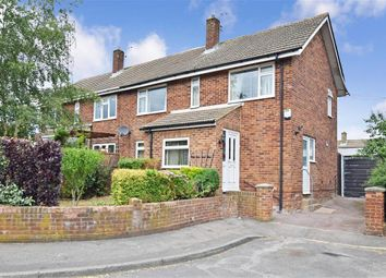 Thumbnail 3 bed semi-detached house for sale in Larkspur Close, East Malling, West Malling, Kent