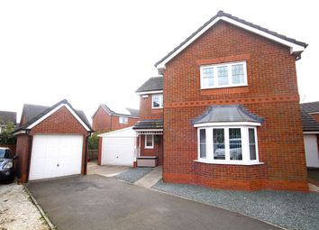 Thumbnail 4 bed detached house for sale in Alyn Road, Wrexham
