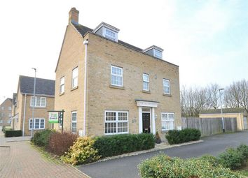 Thumbnail 4 bed detached house for sale in Howell Drive, Sapley, Huntingdon, Cambridgeshire