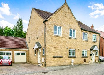 Thumbnail 3 bedroom semi-detached house for sale in Dexter Lane, Littleport, Ely