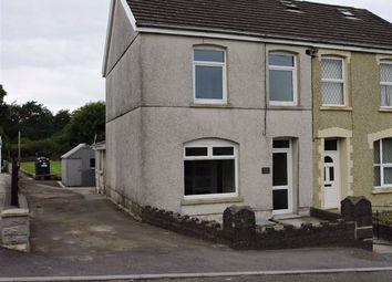 Thumbnail 3 bed semi-detached house for sale in Llannon Road, Pontyberem, Llanelli