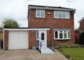 Thumbnail 3 bed detached house for sale in Blantern Way, Wrexham