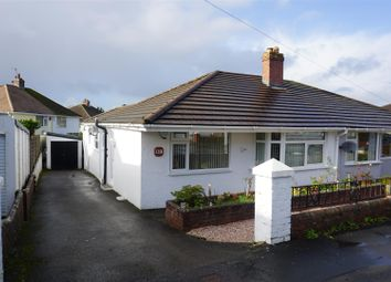 Thumbnail 2 bed semi-detached bungalow for sale in Woodford Avenue, Plympton, Plymouth
