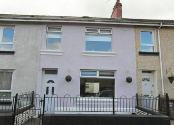 Thumbnail 3 bed terraced house for sale in Commercial Street, Glyngaer, Ystrad Mynach, Caerphilly