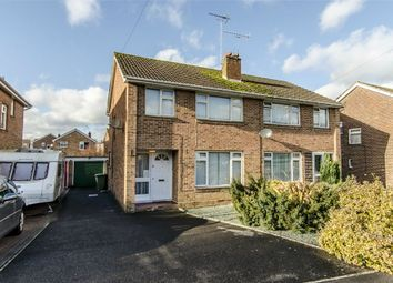 Thumbnail 3 bed semi-detached house for sale in Wembley Way, Fair Oak, Eastleigh, Hampshire