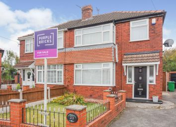 Thumbnail 3 bed semi-detached house for sale in Armadale Avenue, Manchester
